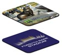 Printed promotional flexi coaster