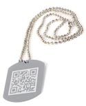 Dog Tags Printed Promotional Item