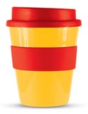 Express Cup Yellow and Red