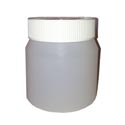600ml Jar with White Lid
